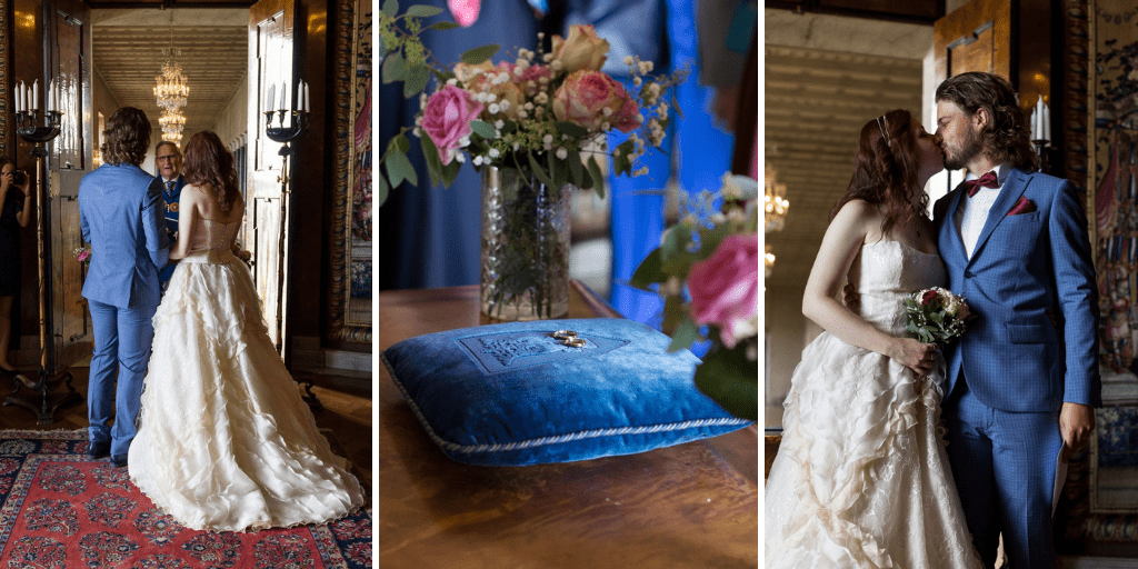 Stockholm wedding: getting married at the City Hall