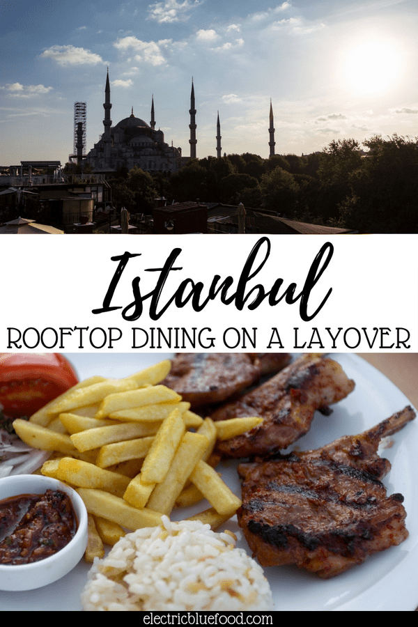 Enjoy food with a view in Istanbul
