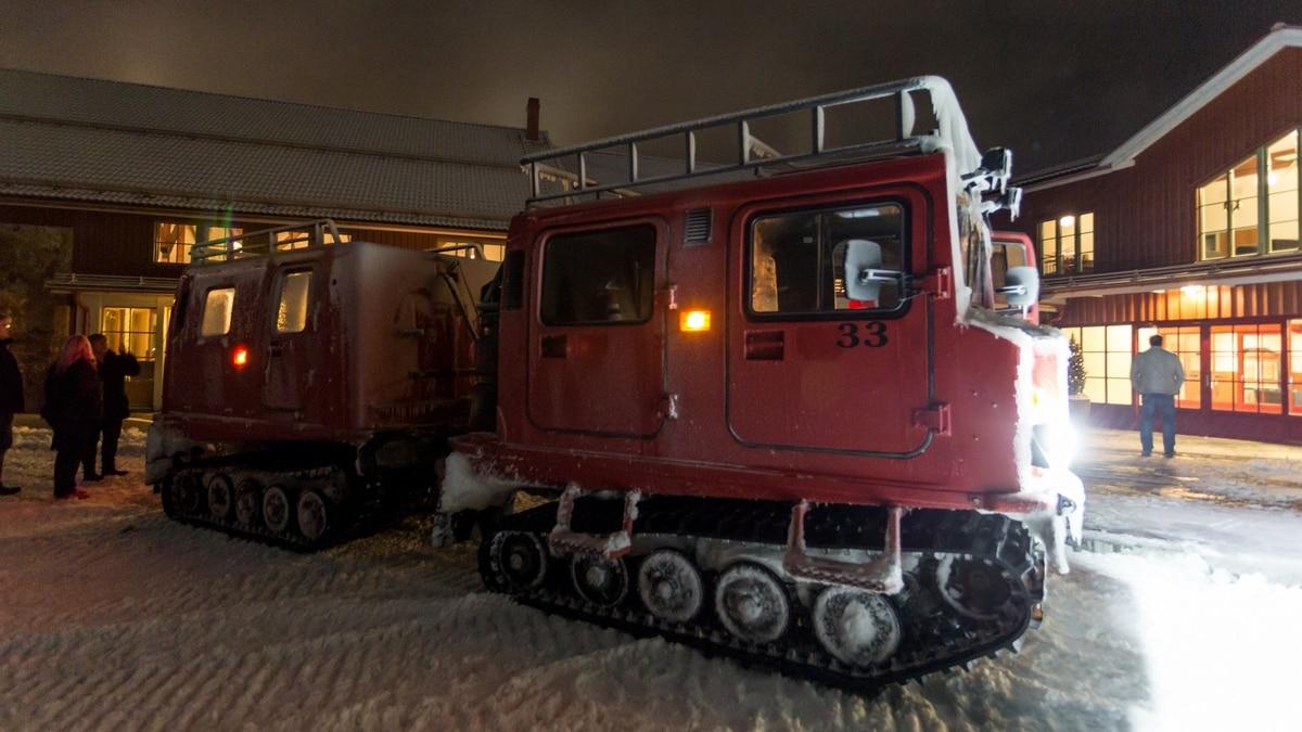 romme alpin bandvagn