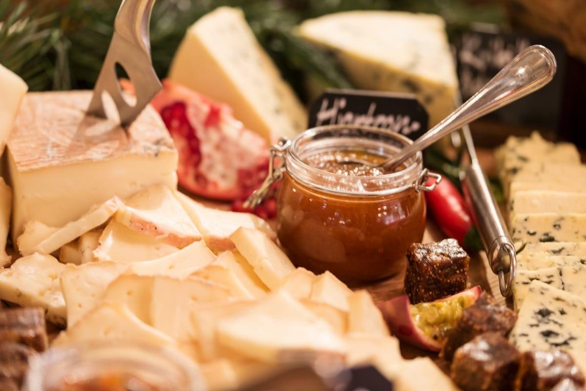 julbord cheese romme alpin