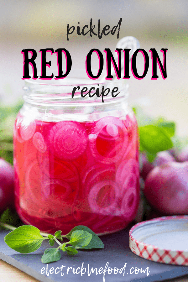 Pickled red onion, known in Swedish as picklad rödlök is a very popular addition to many Swedish dishes, perfect on shrimp sandwiches and hamburgers.