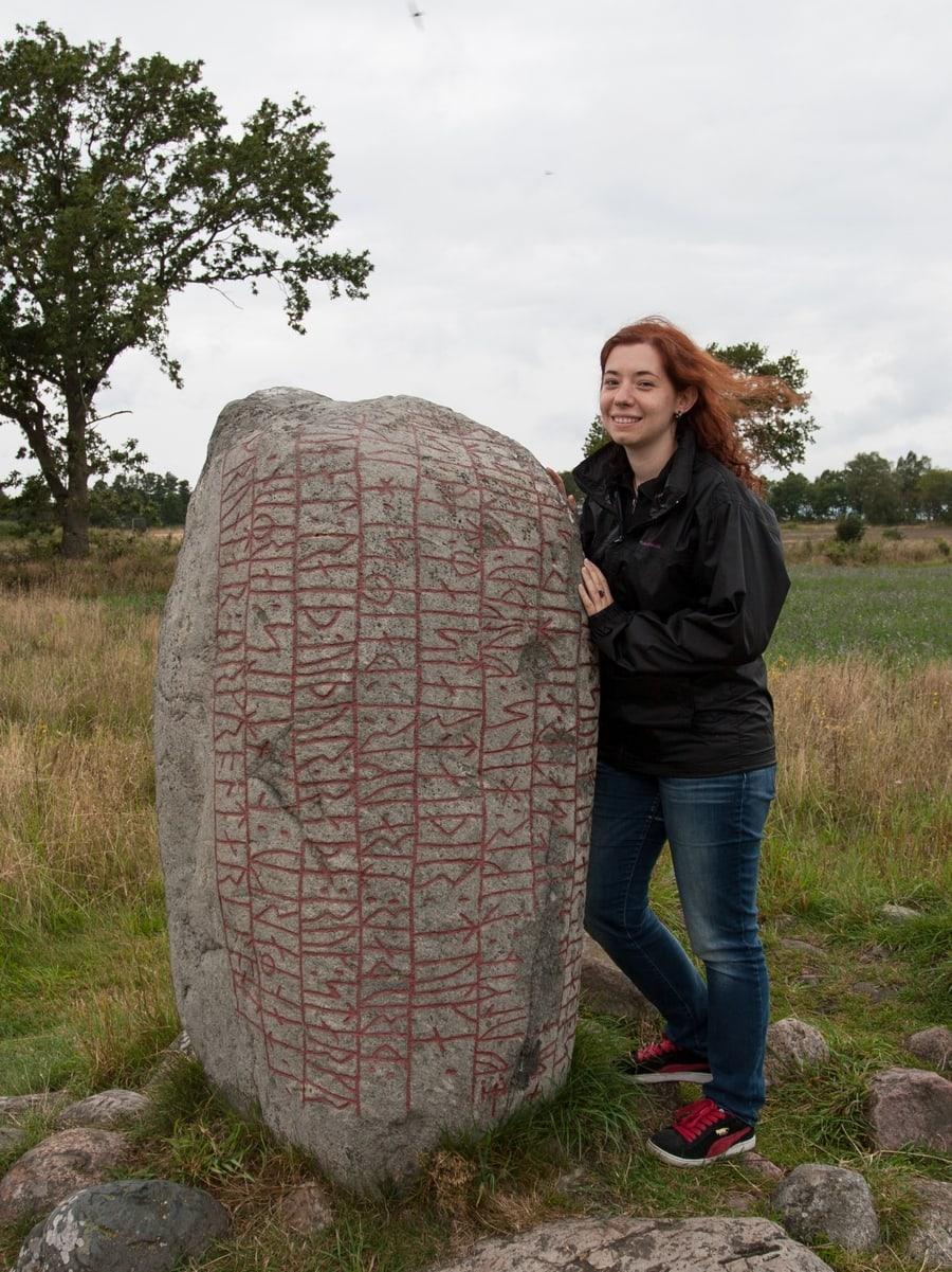 Öland runestone Karlevi