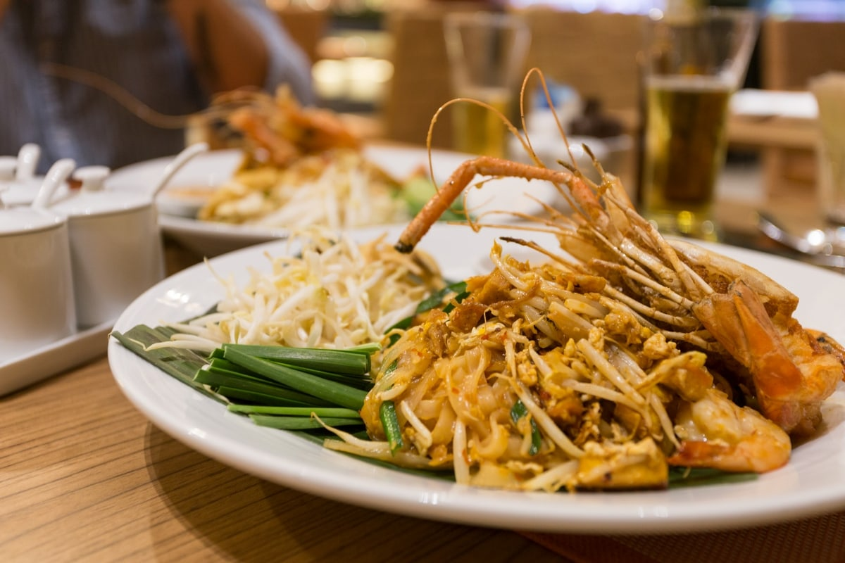 Pad Thai at Eastin Grand Sathorn