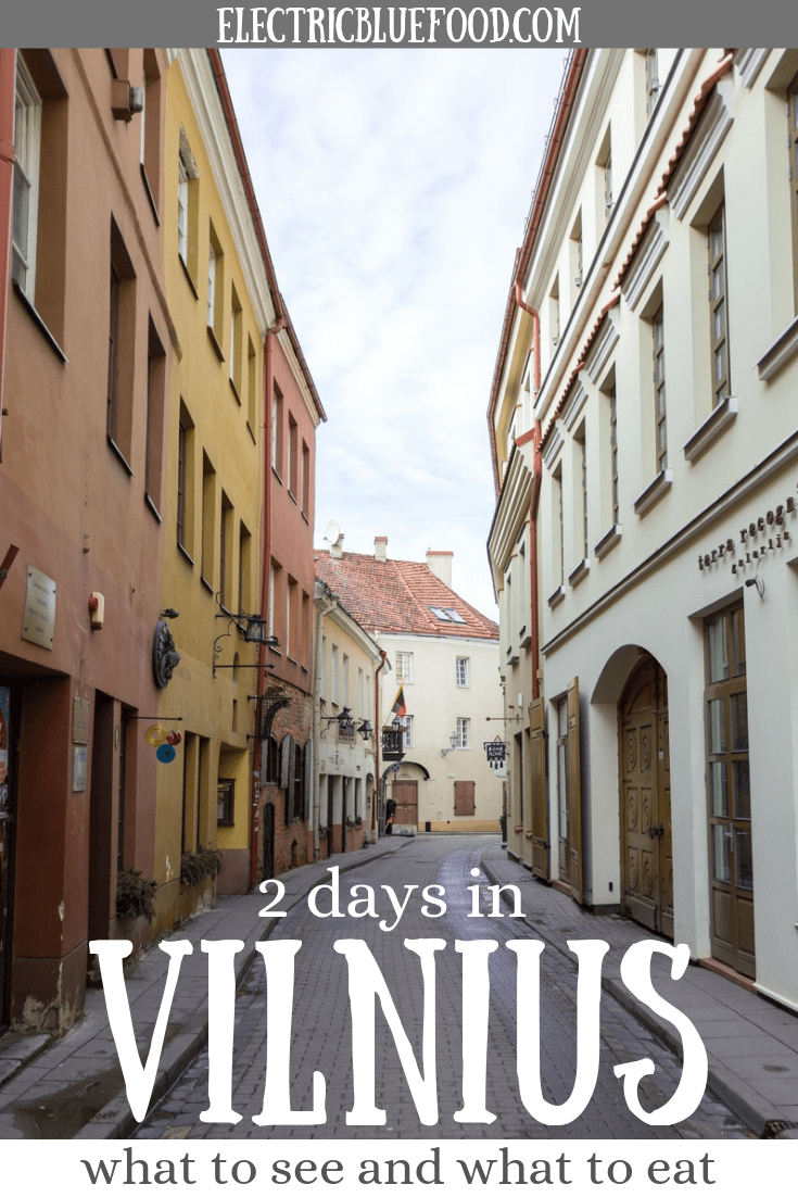 Aguide to Vilnius: how to spend 2 days in Vilnius, Lithuania. What to see in Vilnius in two days and some of the Lithuanian food you can't miss.