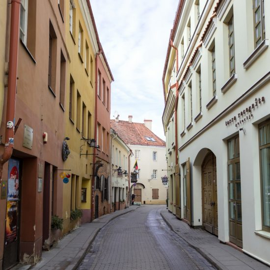 Streets of Vilnius, Lithuania