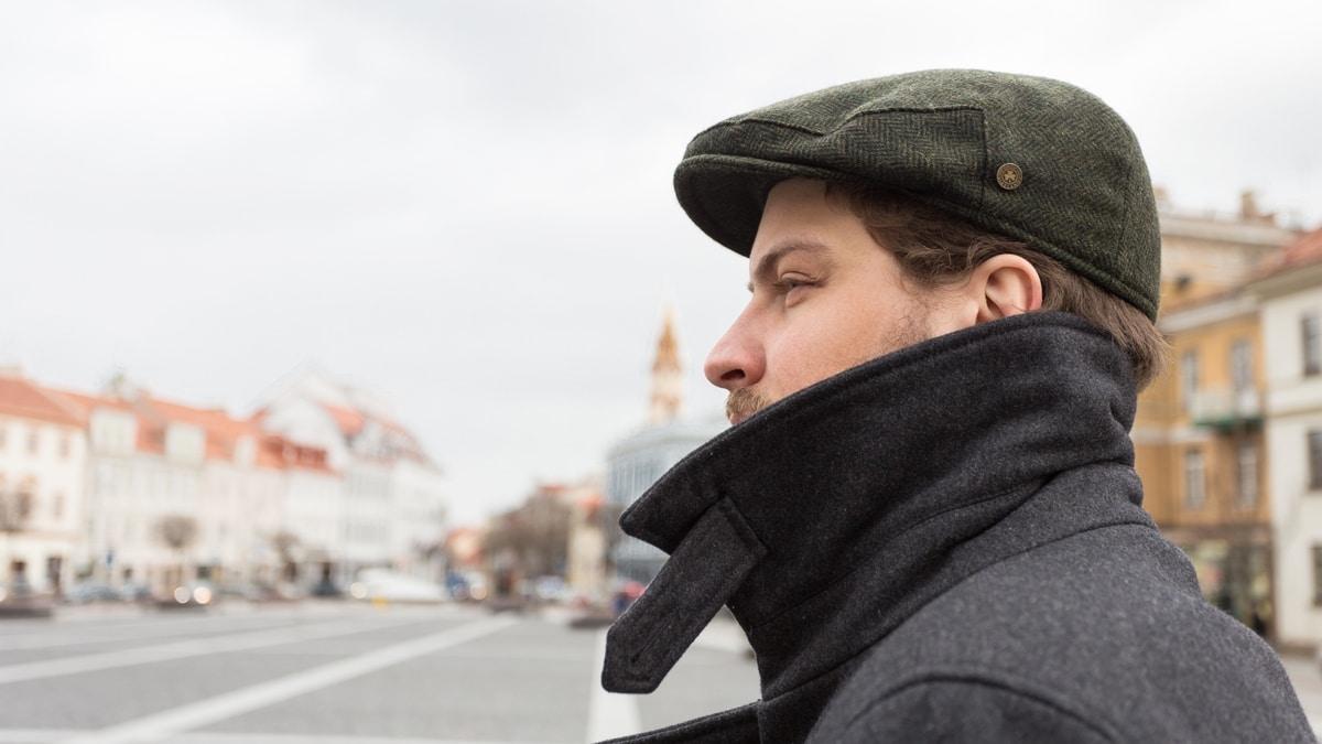 Man in Vilnius