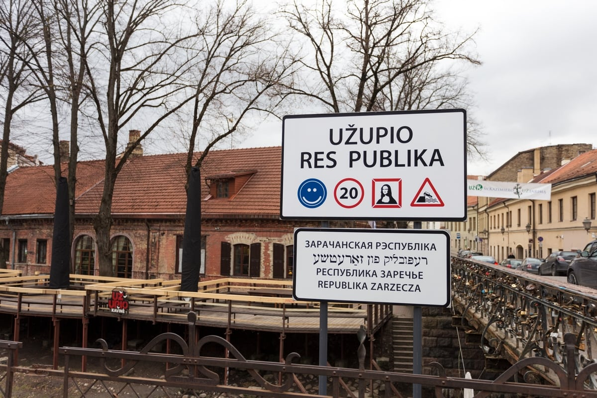 The Republic of Užupis, Vilnius