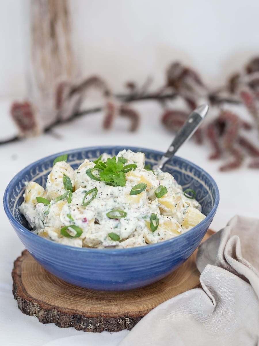 spring onion potato salad
