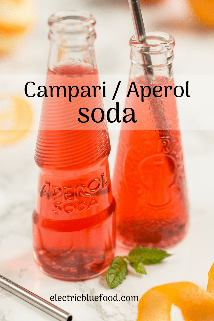 Classic Italian aperitivo cocktails, Campari Soda and Campari Spritz are the perfect drink before your weekend lunch.