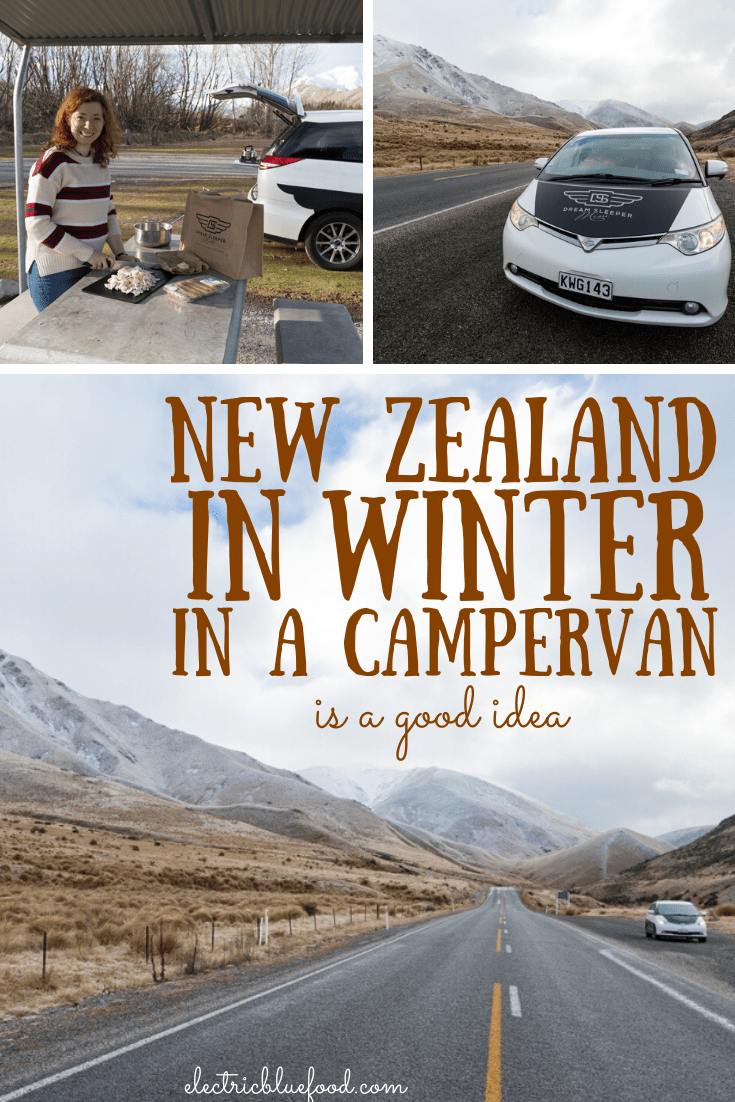 New Zealand in winter in a campervan is a fantastic adventure.