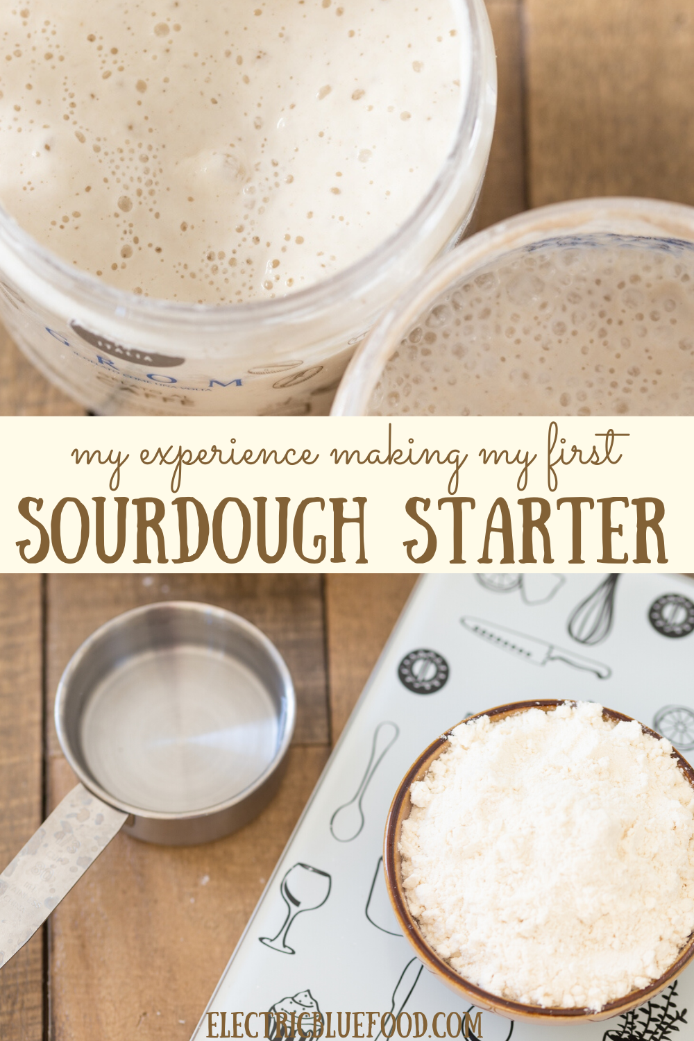 Make your first sourdough starter: it's easier than you'd think. Read my sourdough starter for dummies, aka my experience making my first sourdough.