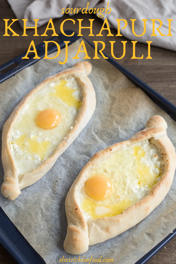 Learn to make khachapuri adjaruli using a sourdough starter. Sourdough khachapuri recipe: how to make the famous Georgian cheese bread from scratch using a starter.