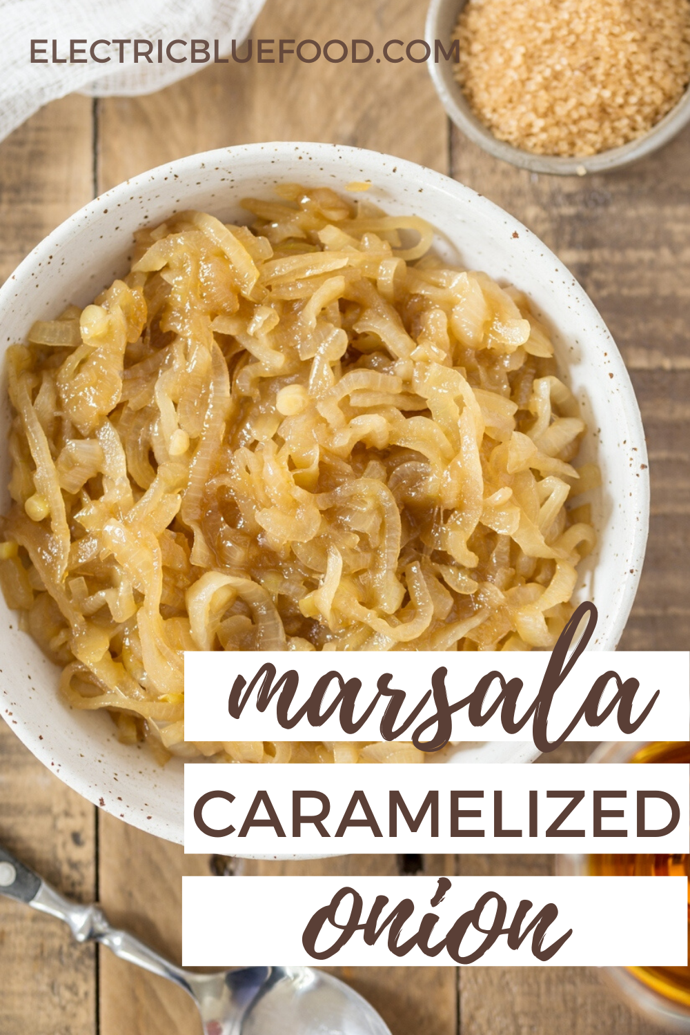 Add a hint of onion to your burger with this marsala caramelized onion relish! Marsala wine gives caramelized onions a lovely flavour depth that will make you love every spoonful. This may become your favourite secret ingredient for burgers that are always delicious.