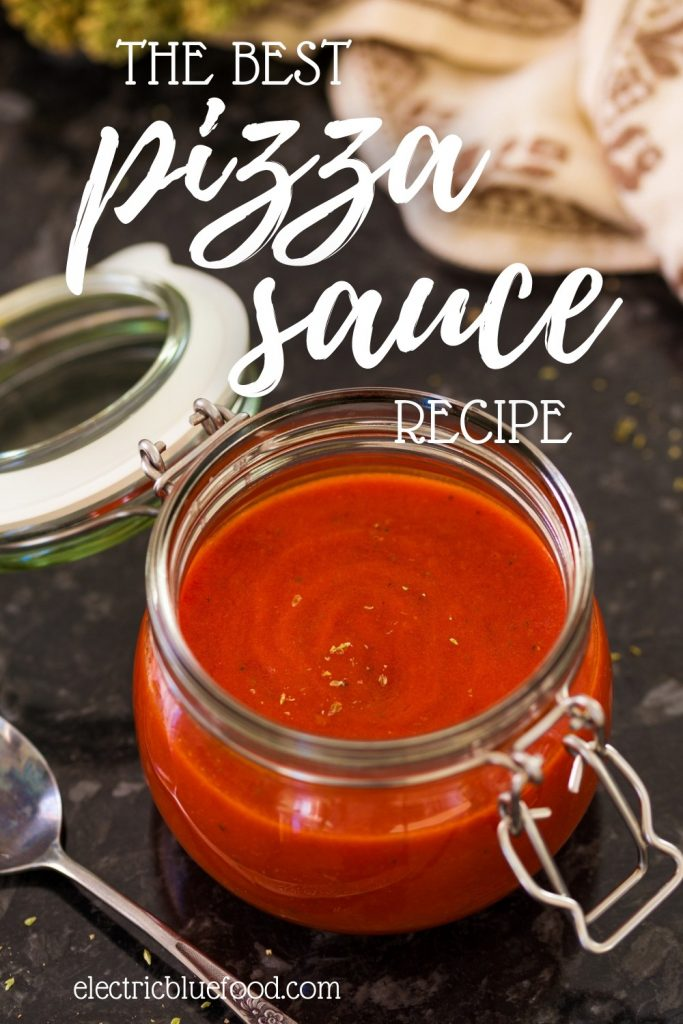 Delicious and easy pizza sauce recipe from scratch. Authentic Italian pizza sauce recipe.