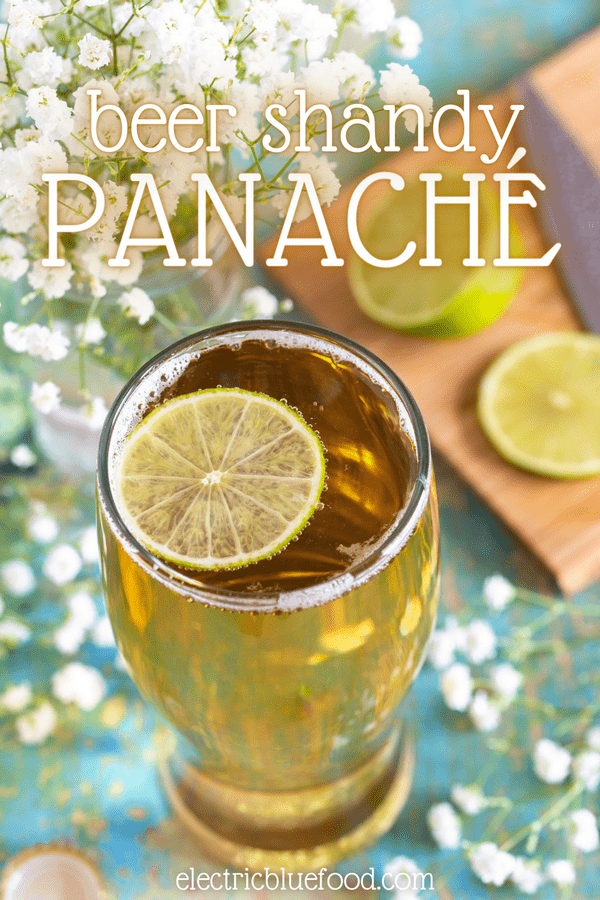 Panache is a beer cocktail made with lager beer and lemonade (soda). Lighter in its alcoholic content and sweeter and lemony thanks to the soda, this beer shandy is the perfect drink for a hot summer day.