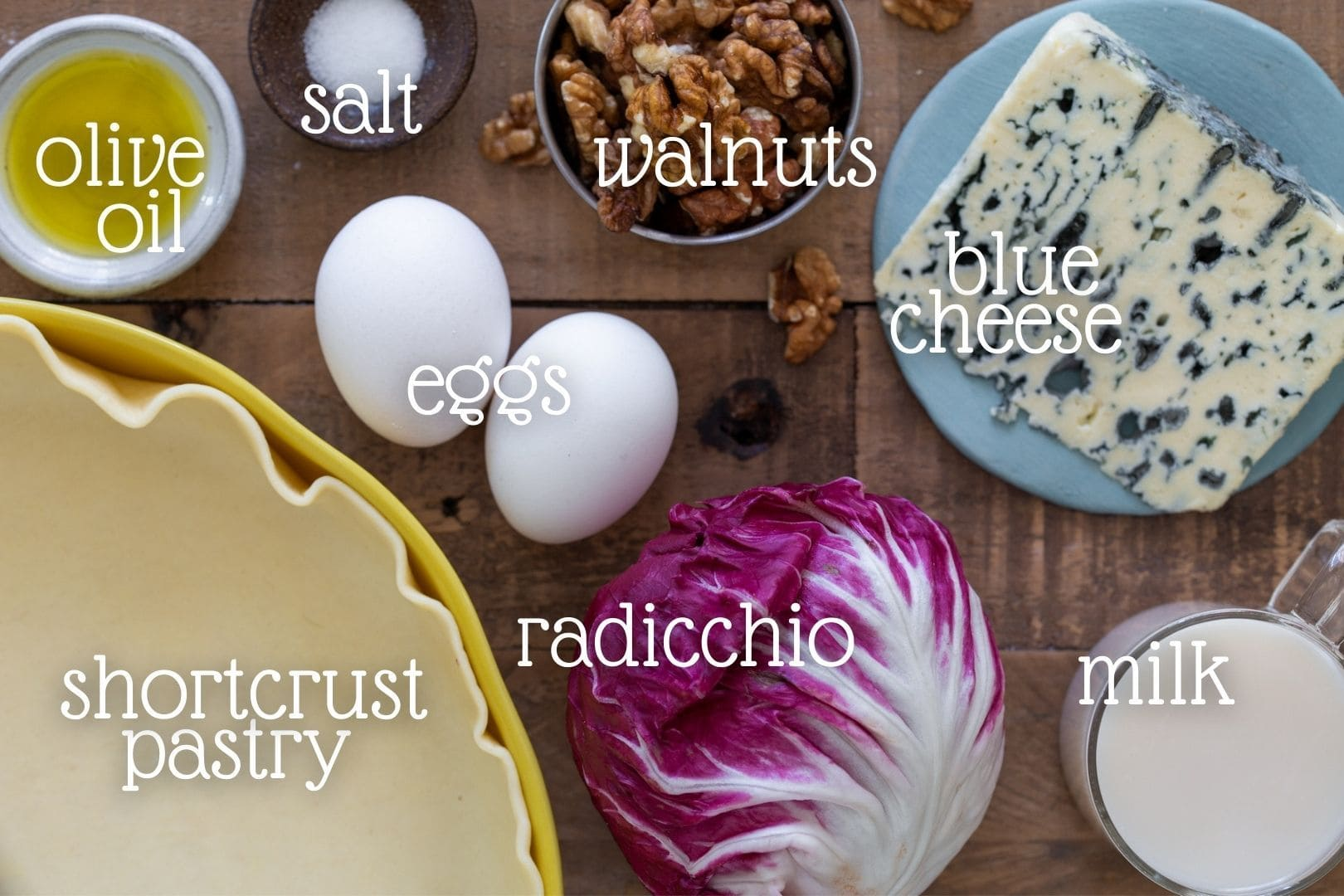 The ingredients needed for the recipe.